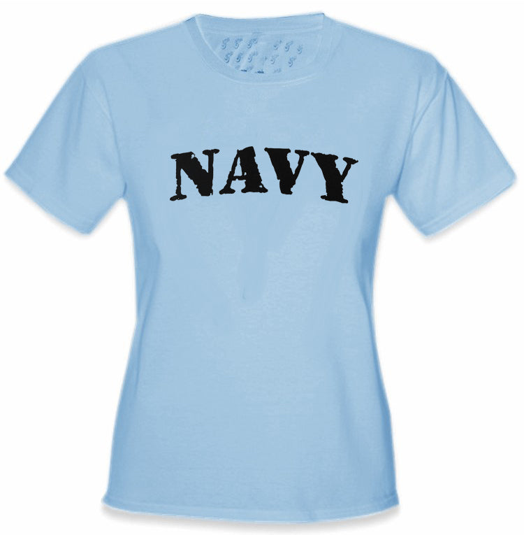 U.S Navy Military Girl's T-Shirt
