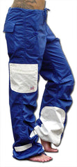 UFO Girls Hipster Two Tone Dance Pants (Blue / White)