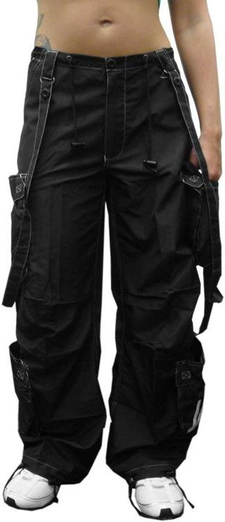 "UFO Girly Extreme ""Floppy"" Dance Pants (Black)"