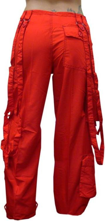 "UFO Girly Extreme ""Floppy""  Dance Pants (Red)"
