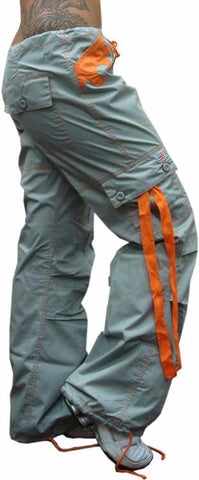 "UFO Girly Hipster ""Chloe"" Pants (Grey / Orange)"