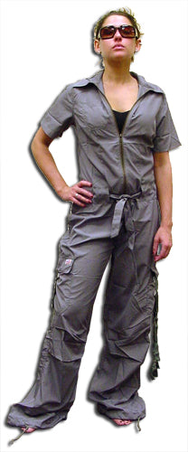UFO Girly Hipster Flight Suit (Grey)