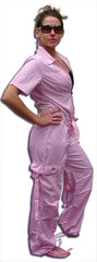 UFO Girly Hipster Flight Suit (Light Pink)