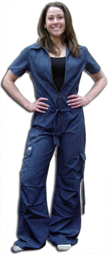 UFO Girly Hipster Flight Suit (Navy)