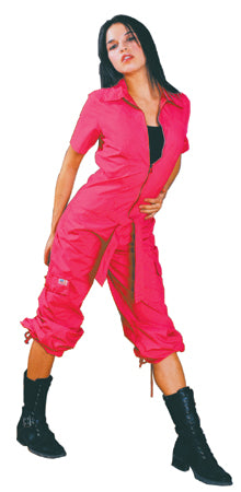 UFO Girly Hipster Flight Suit (Neon Pink)