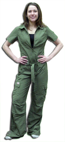 UFO Girly Hipster Flight Suit (Olive)