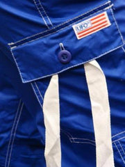 UFO Girly Hipster Pants With Expandable Bottoms (Royal & White)