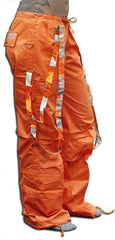 UFO Strappy Hipster Girls Pants (Orange/Orange Camo)