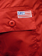 UFO Strappy Hipster Girls Pants (Red/Black)
