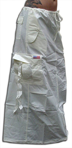 UFO Utility Cargo Skirt (Off White)