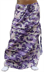 Ufo Utility Cargo Skirt  (Purple Camo)