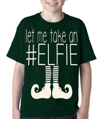 Ugly Christmas Tee - Let Me Take An #ELFIE Ugly Christmas Kids T-shirt