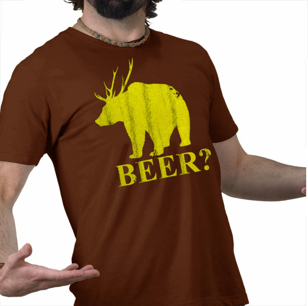 Ultimate Party Animal T-Shirt - Bear + Deer = Beer T-Shirt