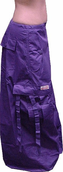 "Unisex 40 "" Wide Leg UFO Pants  (Purple)"