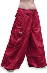 "Unisex 40 "" Wide Leg UFO Pants (Red)"