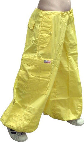 "Unisex 40 "" Wide Leg UFO Pants (Yellow)"