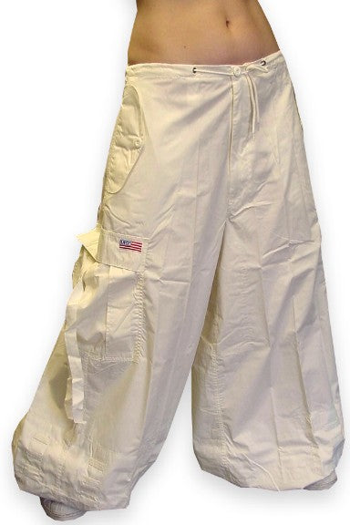 "Unisex 40 "" WideLeg UFO Pants (Off White)"