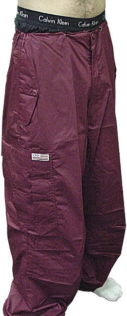Unisex Basic UFO Pants (Burgundy)