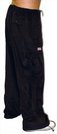 Unisex Basic UFO Pants (Extreme Comfort Cords (Black)