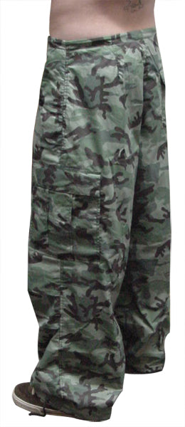 Unisex Basic UFO Pants (Forest Camo)