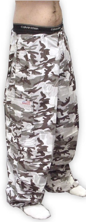 Unisex Basic UFO Pants  (Grey Camo) :: UFO Apparel