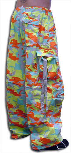 Unisex Basic UFO Pants (Hip Hop Camo)