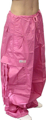 Unisex Basic UFO Pants (Hot Pink)