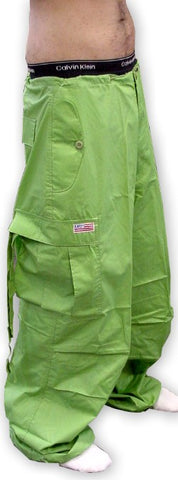 Unisex Basic UFO Pants (Limey Green)