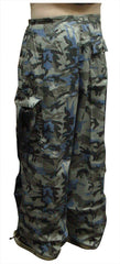 Unisex Basic UFO Pants (Navy Seal Camo)