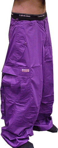 Unisex Basic UFO Pants (Purple)