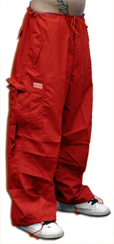 Unisex Basic UFO Pants (Red)
