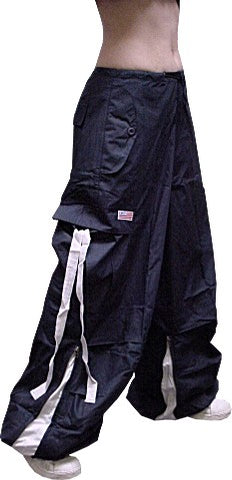 Unisex Basic UFO Pants with Expandable Bottoms  (Navy)