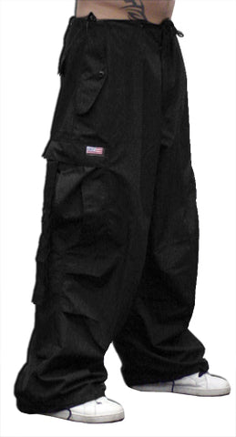 Unisex Basic UFO Pants with Thermal Lining (Black)
