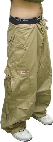 Unisex Basic UFO Pants with Thermal Lining (Khaki)