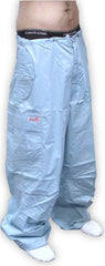 Unisex Basic UFO Pants with Thermal Lining (Light Blue)