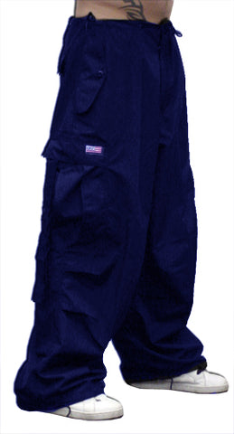 Unisex Basic UFO Pants with Thermal Lining (Navy)