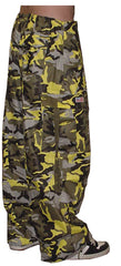 Unisex Basic UFO Pants (Yellow Camo)