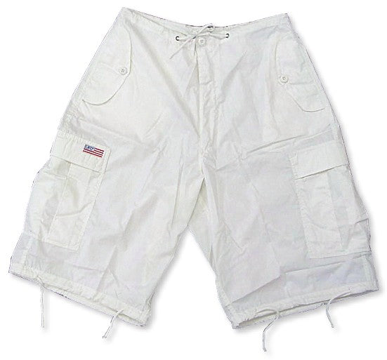 Unisex Basic UFO Shorts (Bright White)
