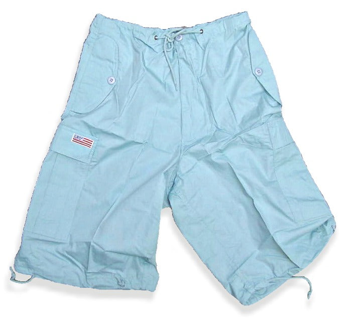 Unisex Basic UFO Shorts (Lt. Blue)