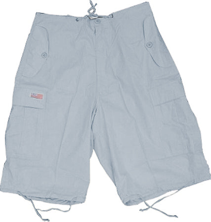Unisex Basic UFO Shorts (Lt. Grey)