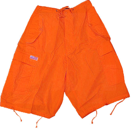 Unisex Basic UFO Shorts (Orange)