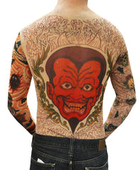 Unisex Full Body Tattoo Shirt - Cobra and Roses