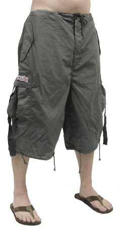 Unisex UFO Pants w/ Zip Off Legs to Shorts (Charcoal Grey)
