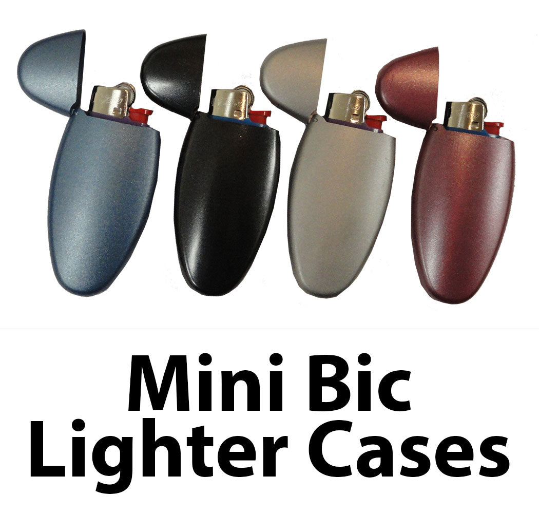 Universal Mini Bic Lighter Case ( Assorted Colors )