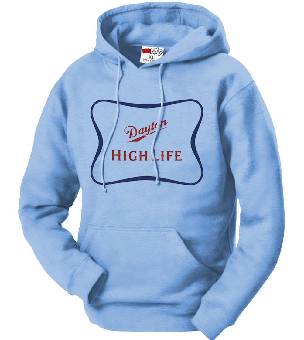 "University of Dayton ""High Life"" Dayton Flyers Elite 8 Basketball Adult Hoodie"