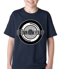 Uptown Funk You Up Record Kids T-shirt
