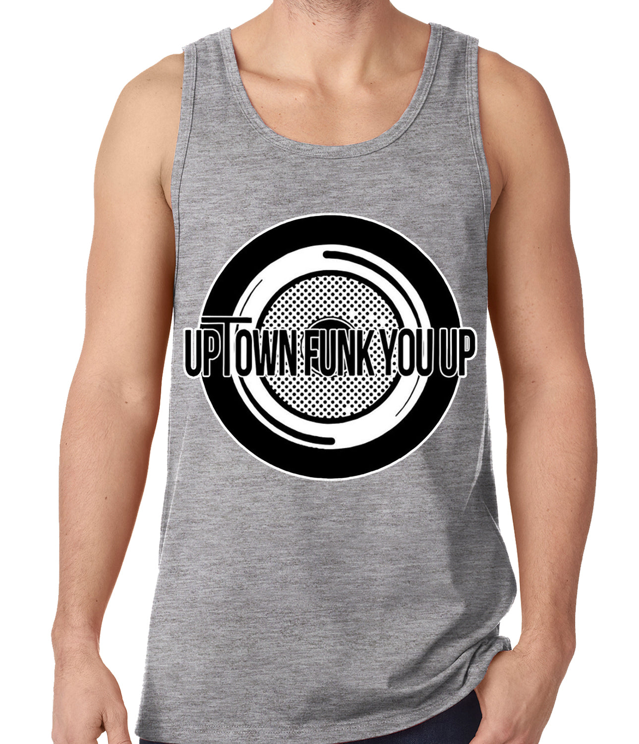 Uptown Funk You Up Record Tank Top