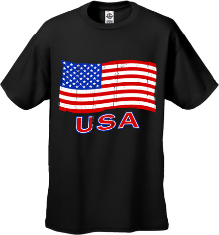 USA Vintage Flag Men's T-Shirt