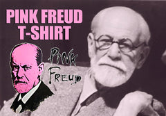 Pink Freud T-Shirt :: Sigmund Freud Mens T-Shirt