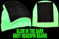 Headspin Break Dance Hat - Glows In The Dark And Under Blacklight